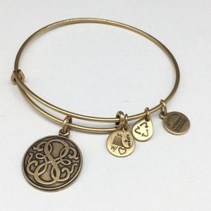 Alex & Ani Path Of Life II Charm Bangle Bracelet
